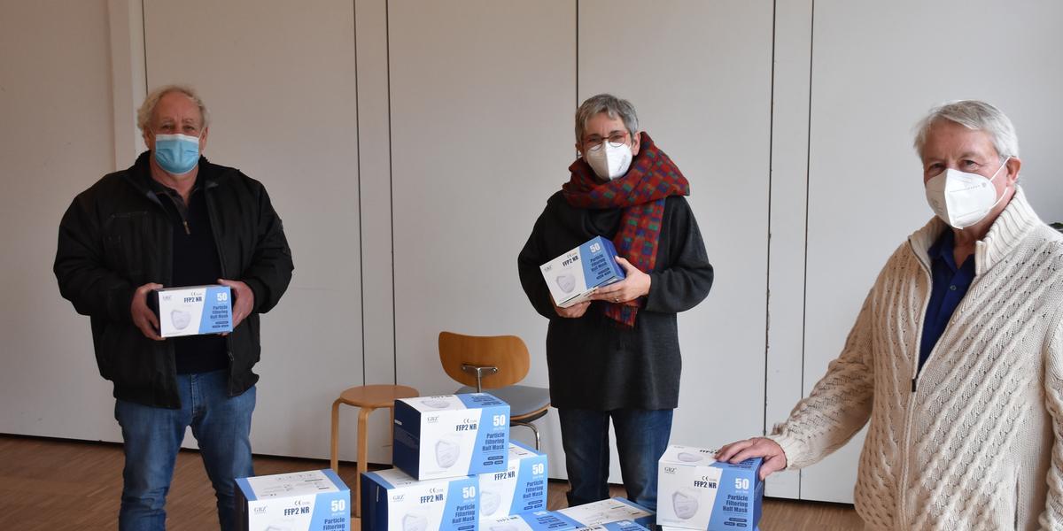 Foto/svg: v.l. Rüdiger Wiese,Gabi Gschwind-Wiese und Axel Steinbach